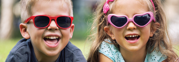 Happy Children with Sunglasses