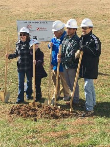 Breaking Ground for Salem Swim